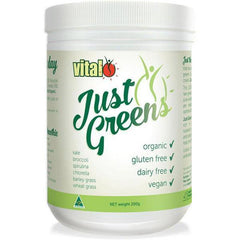 Vital Just Greens 200g - Supplements.co.nz