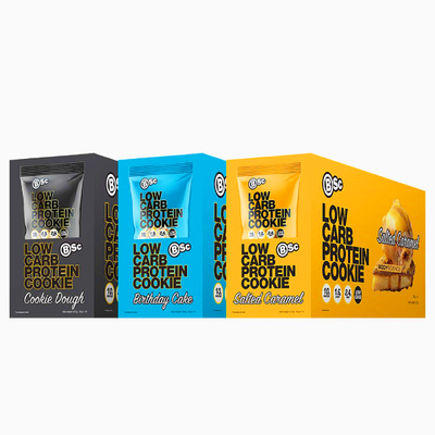 BSc Body Science Low Carb Protein Cookies 30g x14