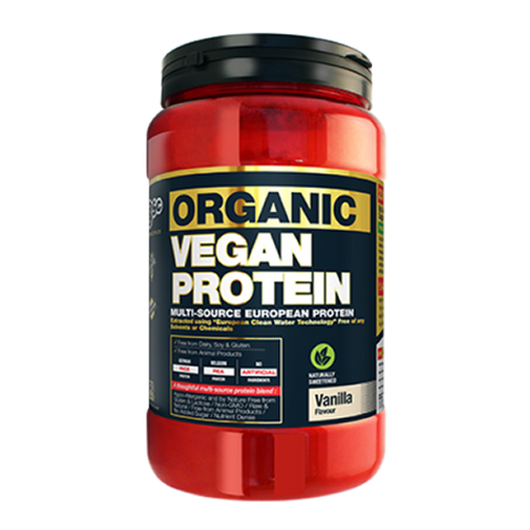BSc Body Science Organic Vegan Protein 1kg - Supplements.co.nz