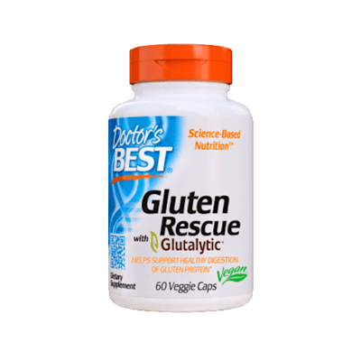 Doctor's Best Gluten Rescue with Glutalytic 60 Caps