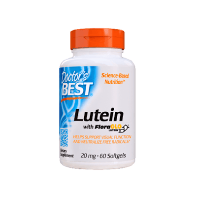 Doctor's Best Lutein with FloraGLO 60 Softgels