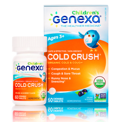 Genexa Cold Crush for Children 60 Chewables