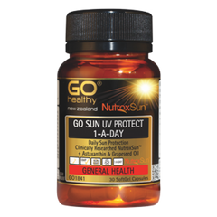 Go Healthy Go Sun UV Protect 1-A-Day 30 Softgels