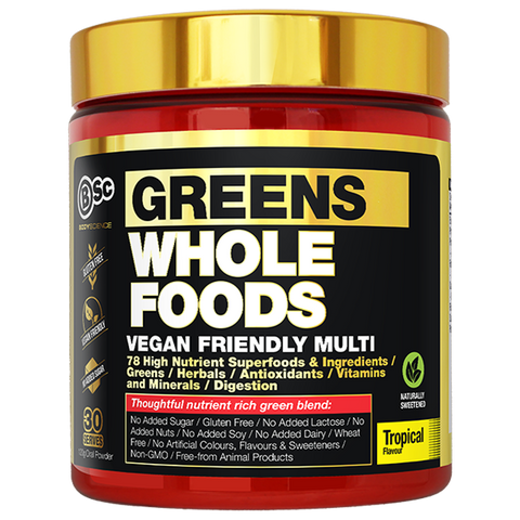 BSc Body Science Greens Whole Foods 120g