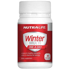 Nutralife Winter Multi One-A-Day 30 Caps - Supplements.co.nz