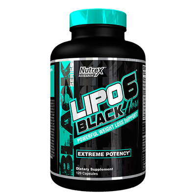 Nutrex Lipo-6 Black Hers 120 Caps - Supplements.co.nz