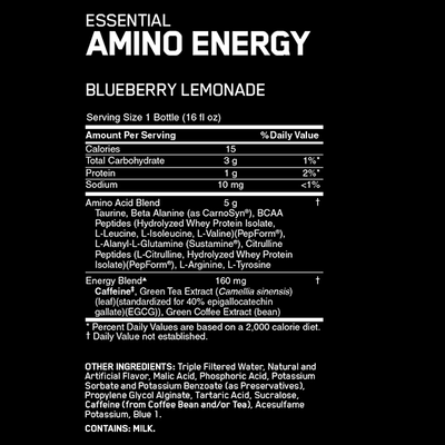Optimum Nutrition Amino Energy RTD Box of 12 - Supplements.co.nz