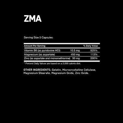 Optimum Nutrition ZMA 180 Caps - Supplements.co.nz