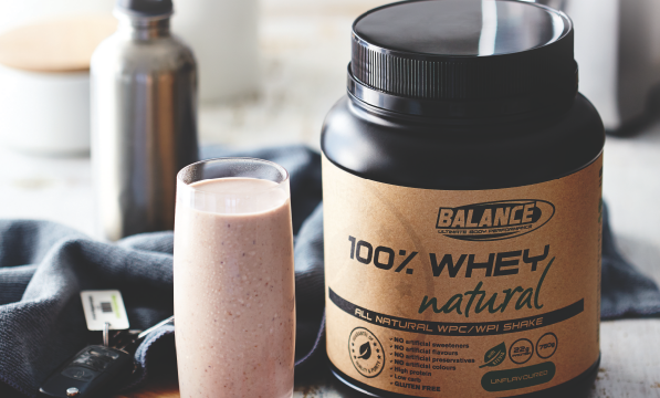 Natural Performance With Balance 100% Whey Natural