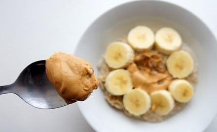 Delicious Peanut Butter Banana Protein Mug Cake
