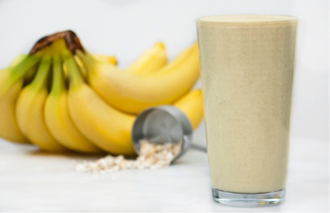 Banana-Oat Protein Smoothie Recipe
