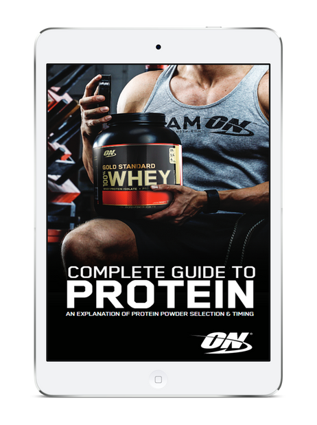 Check Out Our New Free Ebook: The Complete Guide to Protein