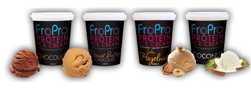 FroPro Protein Ice Cream - Now available at Supplements.co.nz