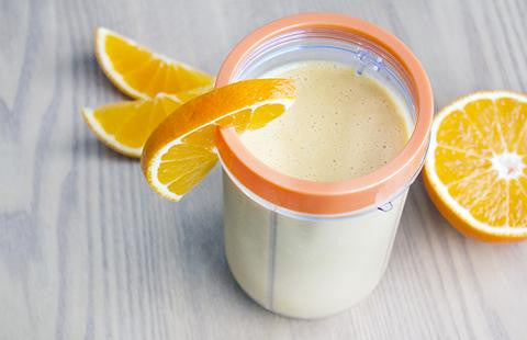 Orange Creamiscle Protein Smoothie