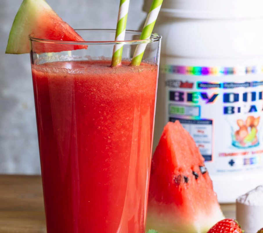 Watermelon & Strawberry Shake With Beyond BCAA