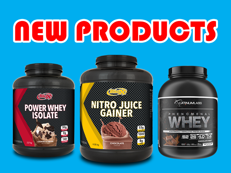 New Supplements: Nitro Juice Gainer, Cake Bites, Phenomenal Whey, & More