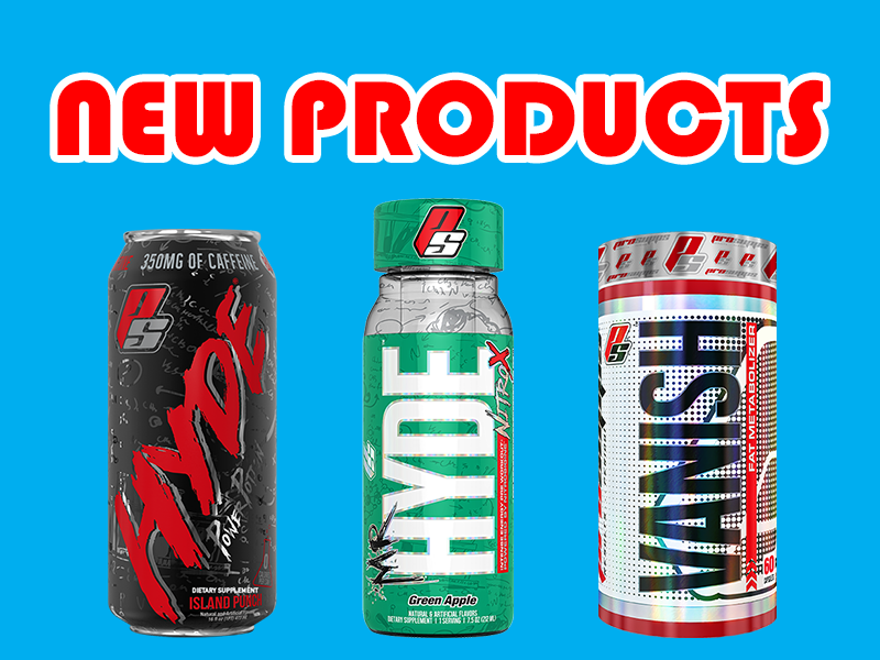 New Supplements: Hyde Power Potion, Vanish, Mr. Hyde NitroX RTG, & More