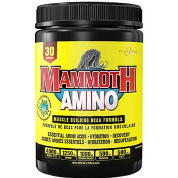 Supplement Spotlight: Mammoth Amino