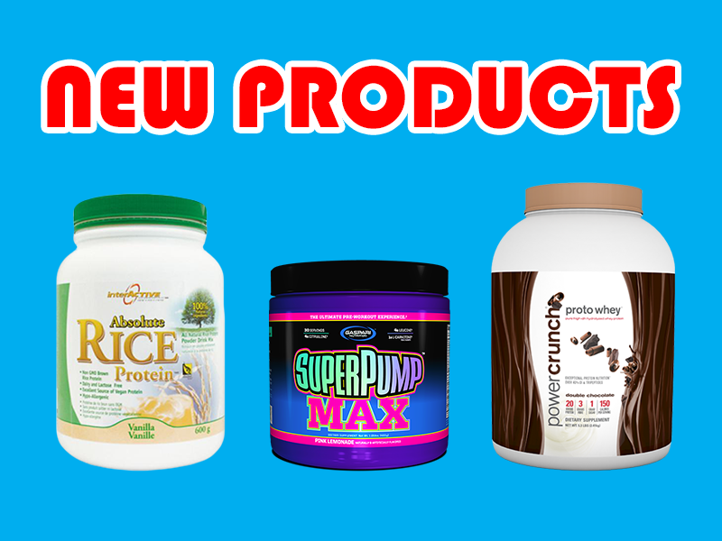 New Supplements: Interactive Nutrition, Gaspari, & Power Crunch