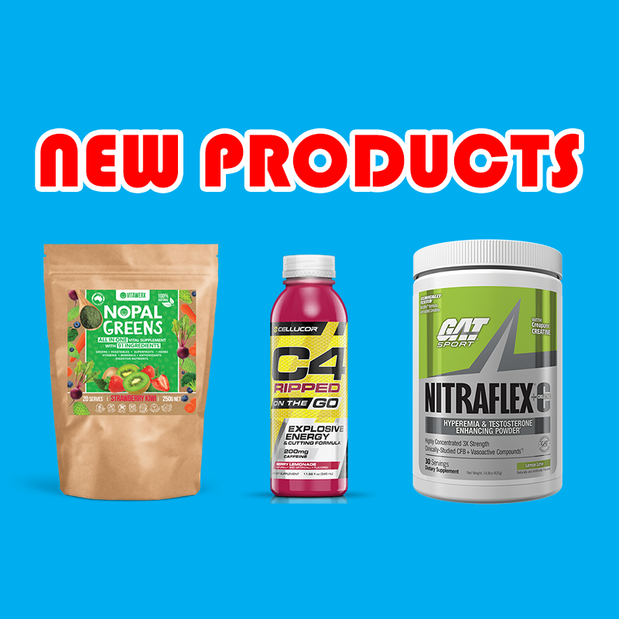 New Supplements: Vitawerx, GAT, PharmaFreak, and Cellucor