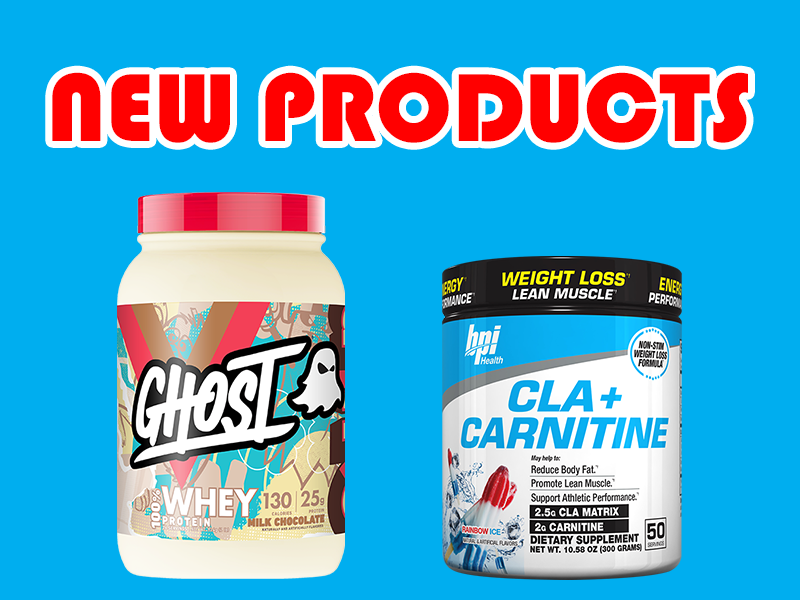 New Supplements: Ghost, BPI, Finaflex, & More
