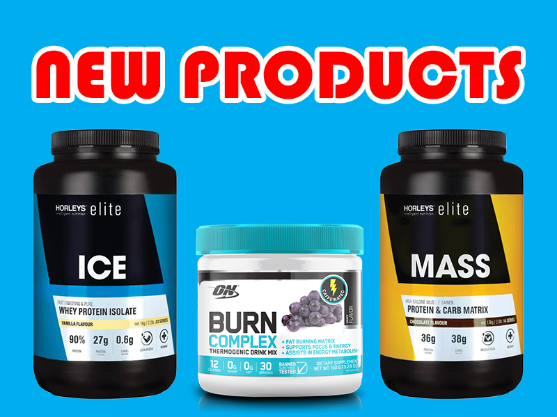 New Supplements: ON Burn Complex, Horleys Elite Range, Clinicians Liposomals, & More
