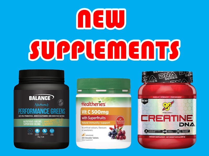 New Supplements: Balance Performance Greens, BSN Creatine, Healtheries Vit C Superfruits, and more