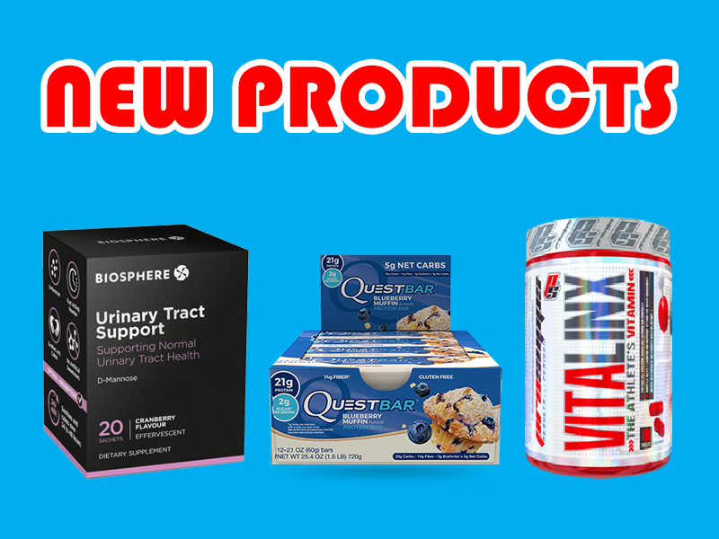 New Supplements: Pro Supps, Quest, Biosphere, and More