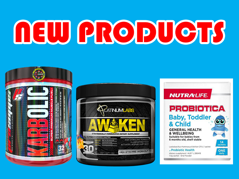 New Supplements: Platinum Labs, Pro Supps, & Nutralife
