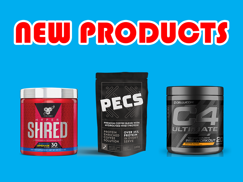 New Supplements: BSN, Cellucor, PECS, and More