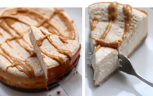 Peanut Butter Marshmallow Protein Cheesecake