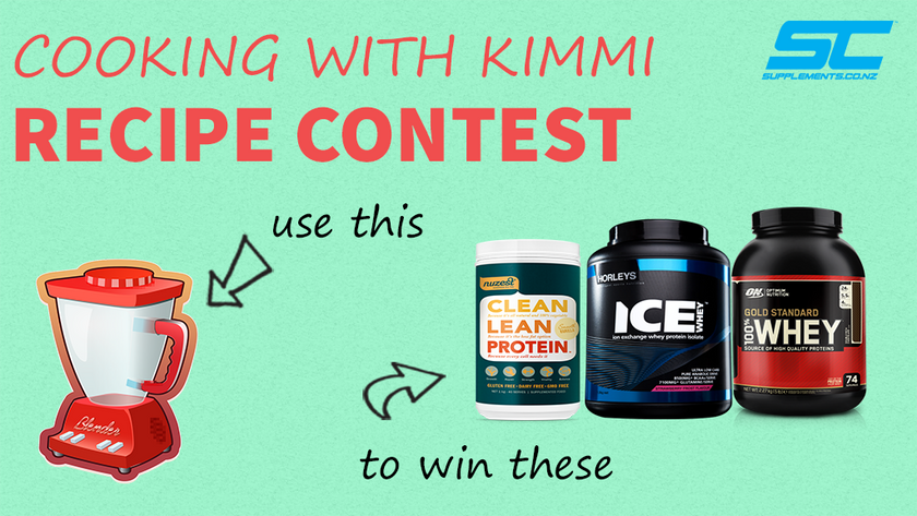 Share Your Recipes, Win Your Favourite Supplements