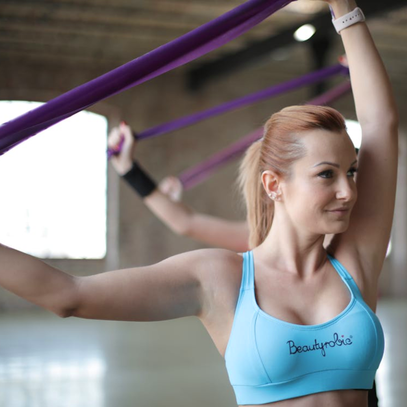 3 Upper Body Resistance Band Workouts