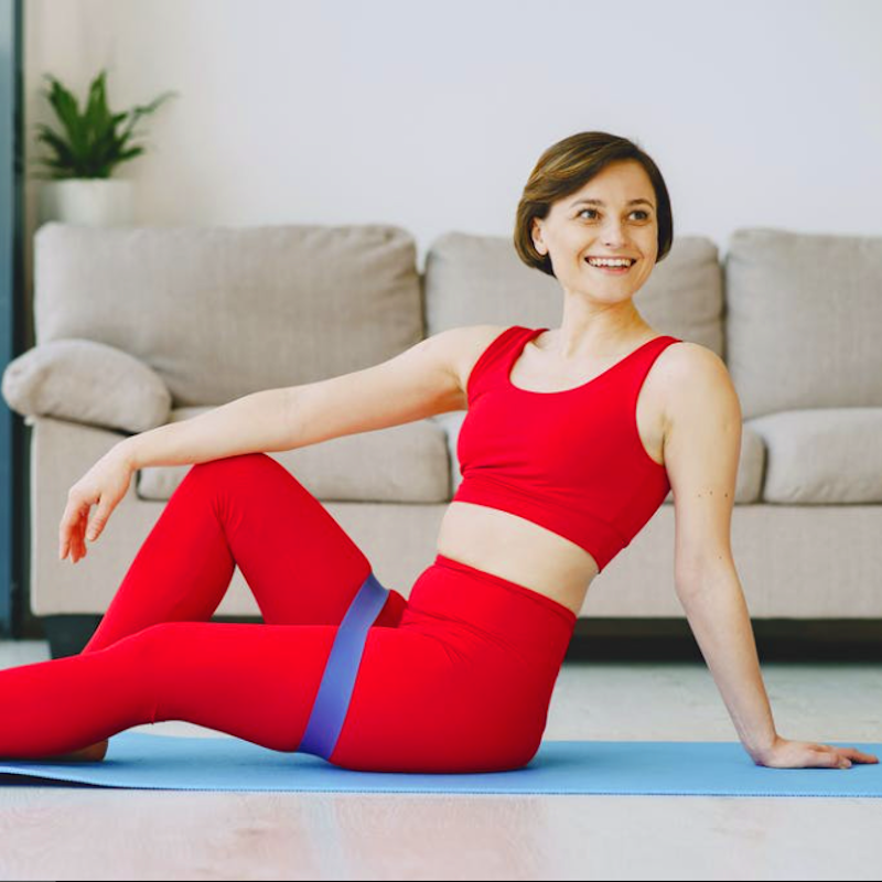 4 Workouts At Home with Resistance Band