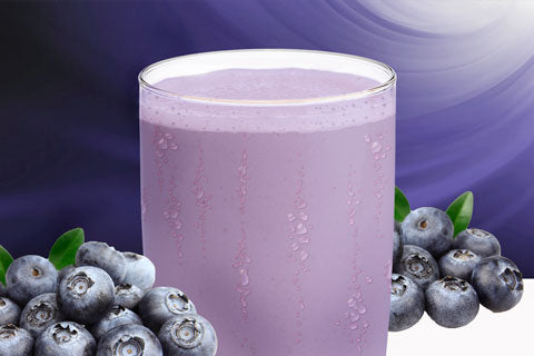 blueberry muffin protein shake