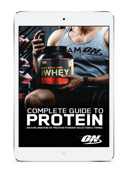 Free Ebook: Complete Guide to Protein (via Optimum Nutrition)