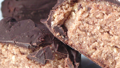 Rocky Road Snack Bars with Gold Standard Protein