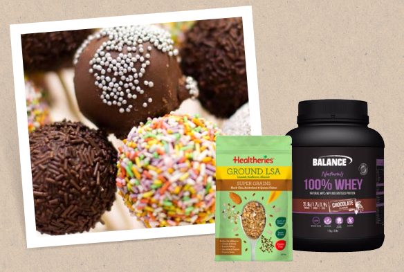 Balance Sports Nutrition natural protein fudge balls