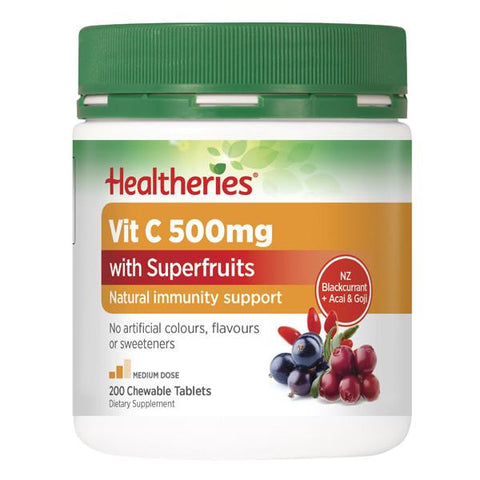 Healtheries Vit C with Superfruits