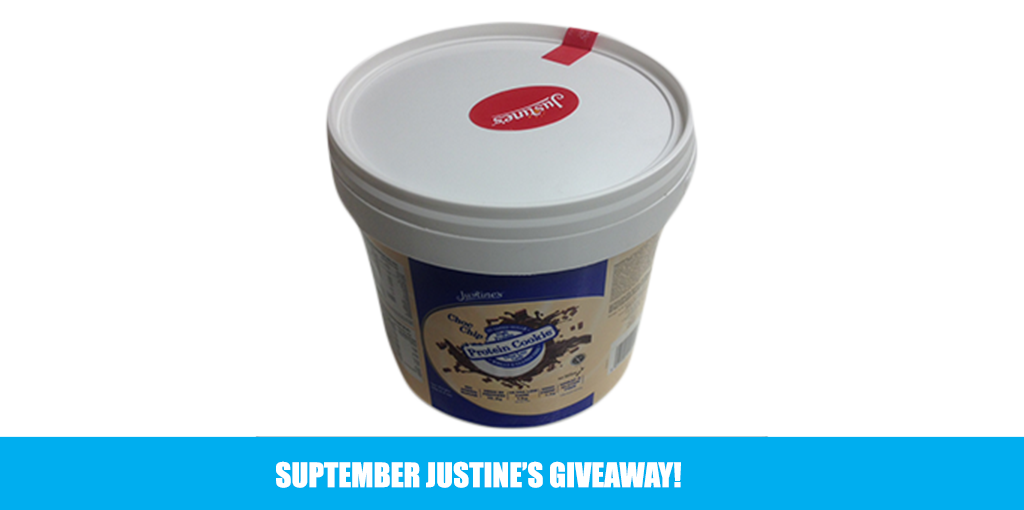 Suptember Justine's Giveaway