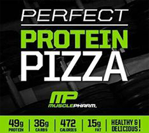 Musclepharm perfect protein pizza recipe - Supplements.co.nz
