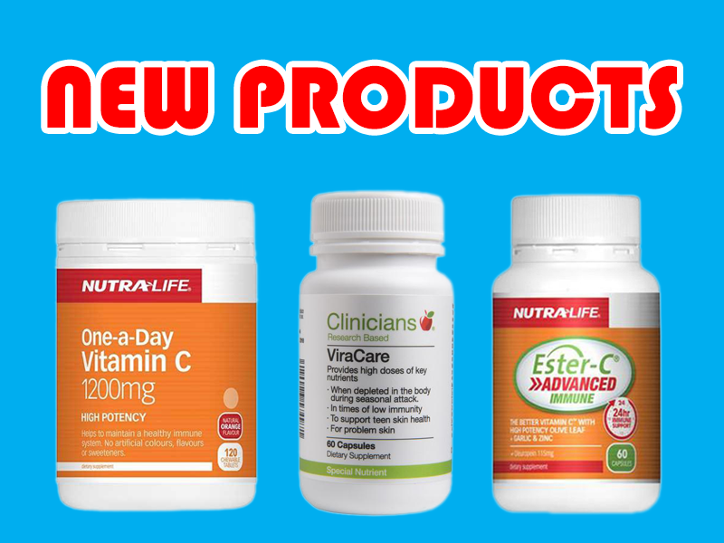 New supplements: Clinicians, Puria, and Nutralife
