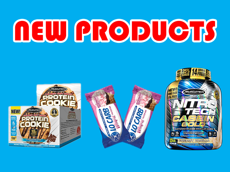 New Supplements: Aussie Bodies, Muscletech, & Project AD