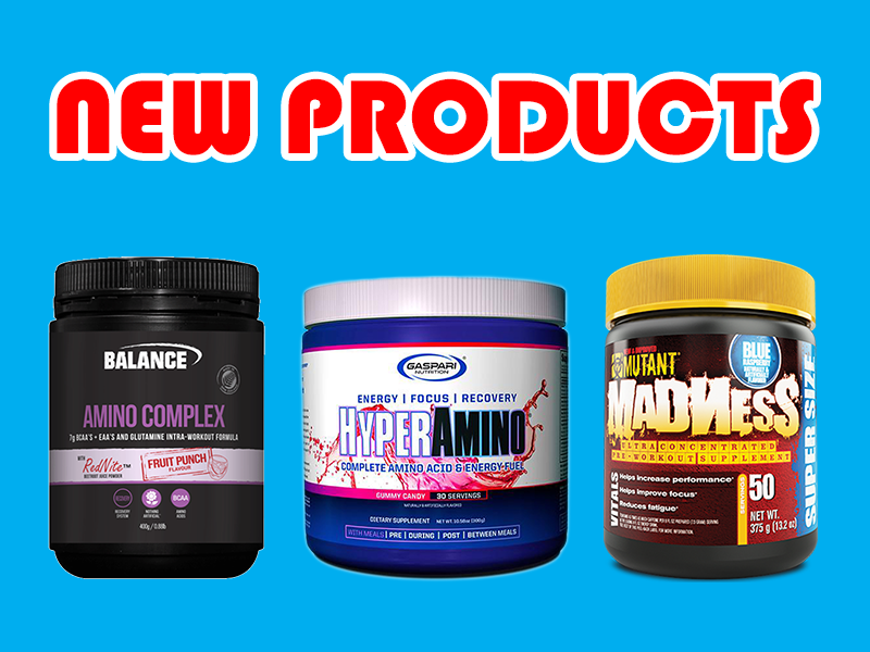 New Supplements: Balance, Mutant, Gaspari, & More