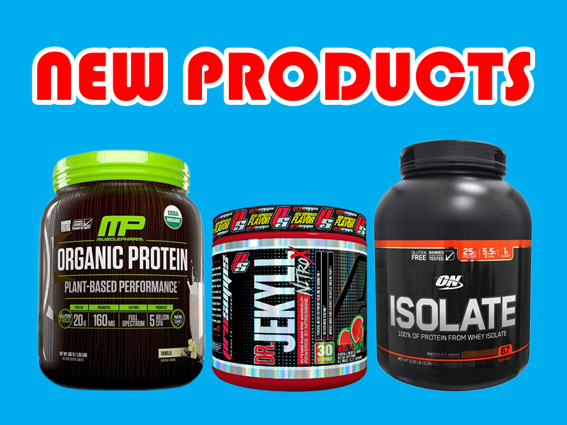 New Supplements: Quest, ON, Musclepharm, and more