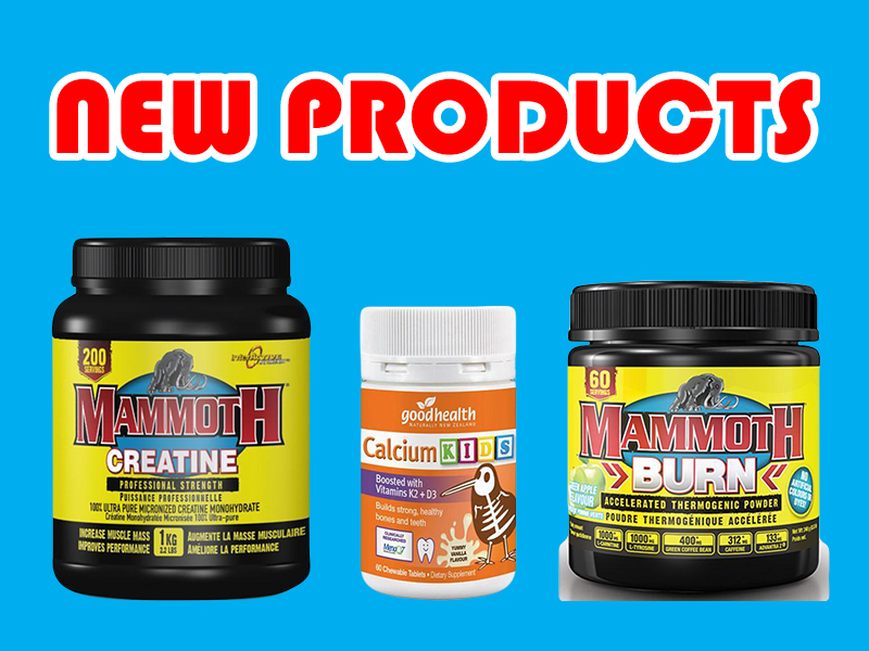 New Supplements: Mammoth and Good Health