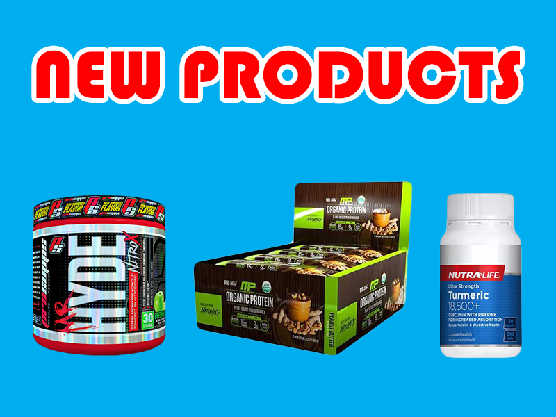 New Supplements: Muscletech, Pro Supps, Fitmiss, and more