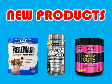 New supplements from Platinum Labs, Gaspari, Ripped Femme, and MuscleTech
