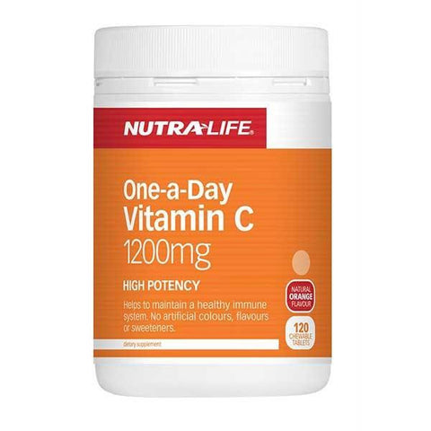 Nutralife Vitamin C 1200mg Chewables