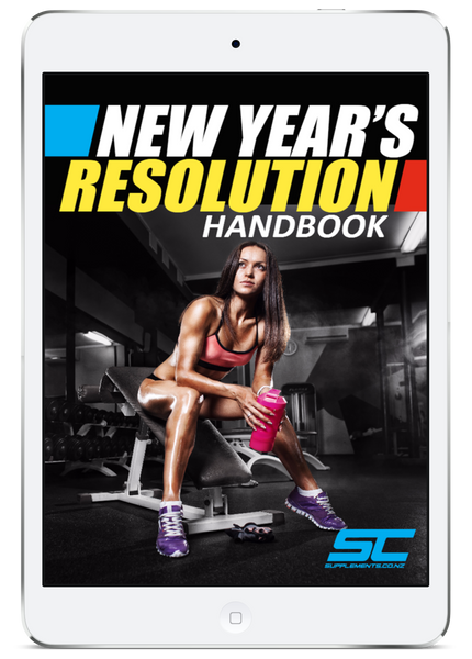 Supplements.co.nz free ebook: New Year's Resolution Handbook